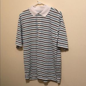 PGA Tour polo LG. Striped